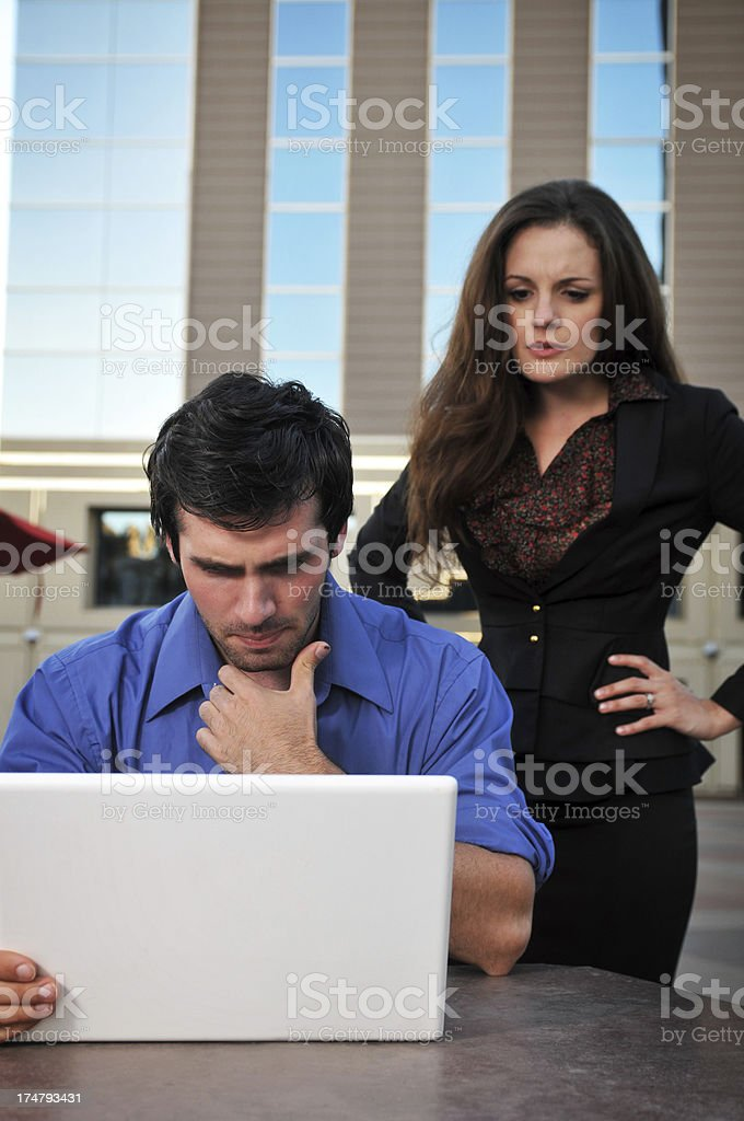 Not looking good royalty-free stock photo