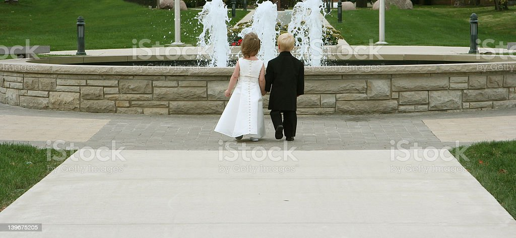 Not married yet royalty-free stock photo