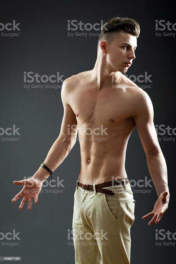 Not me again royalty-free stock photo