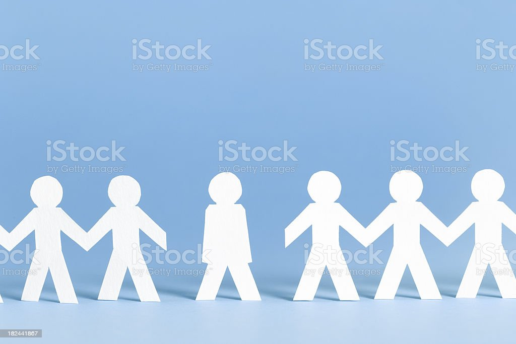 Not participating - paper concept stock photo