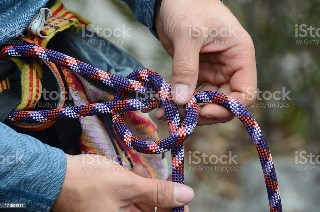 Not the Knot stock photo