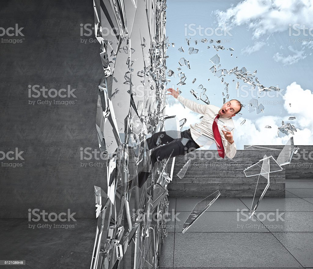 not welcome man stock photo