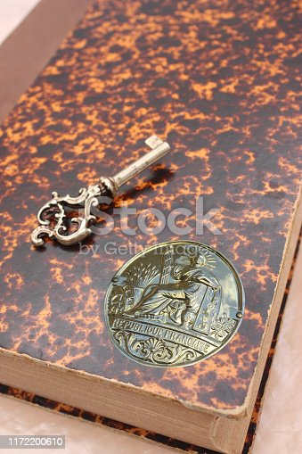 845085240istockphoto Notarial office  Registration book  Notarial act 1172200610