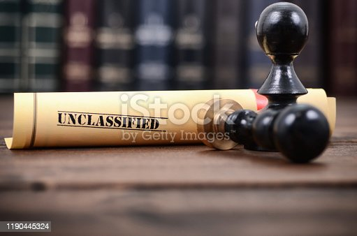 944422446istockphoto Notarized document concept, unclassified documents 1190445324
