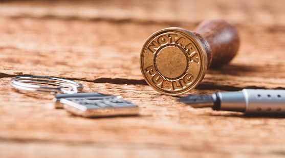 944422446 istock photo Notary public wax stamper 619396040