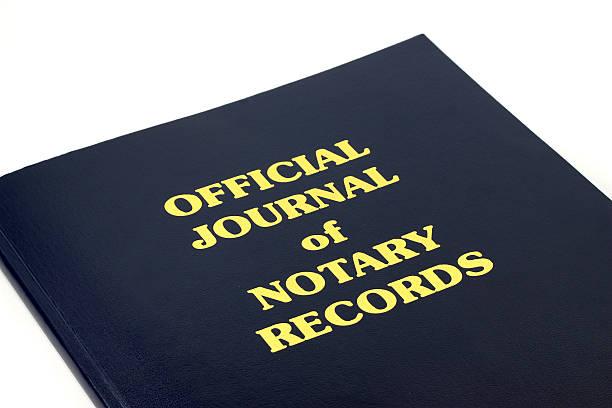 notar records - rechtsassistent stock-fotos und bilder