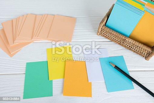 istock Note board set 933434884