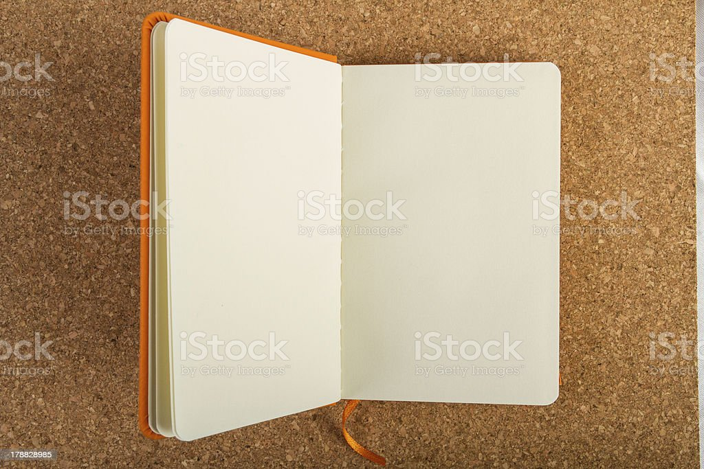 Note book royalty-free stock photo