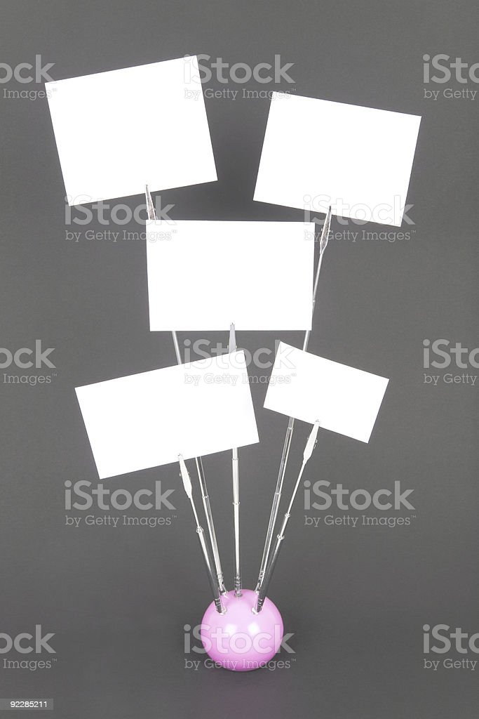 Note clip royalty-free stock photo