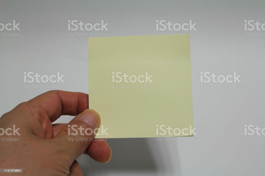 Note Edge stock photo