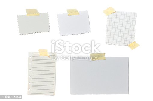 istock Note Note Note 1133415105
