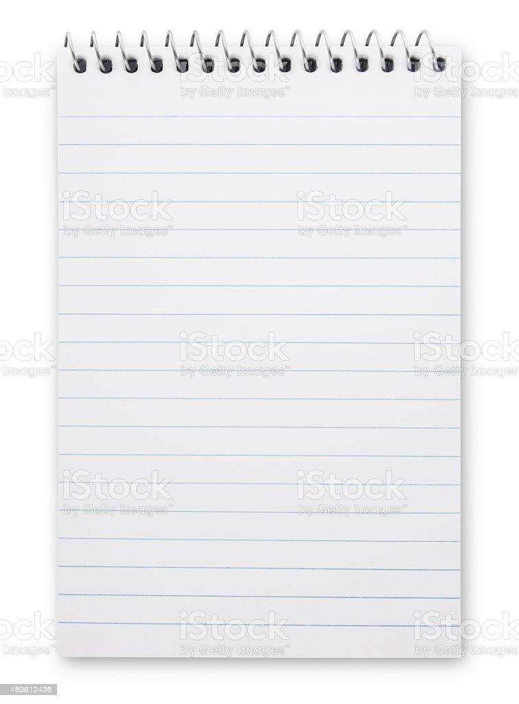 Caderno de Anotação (trilha - foto de acervo