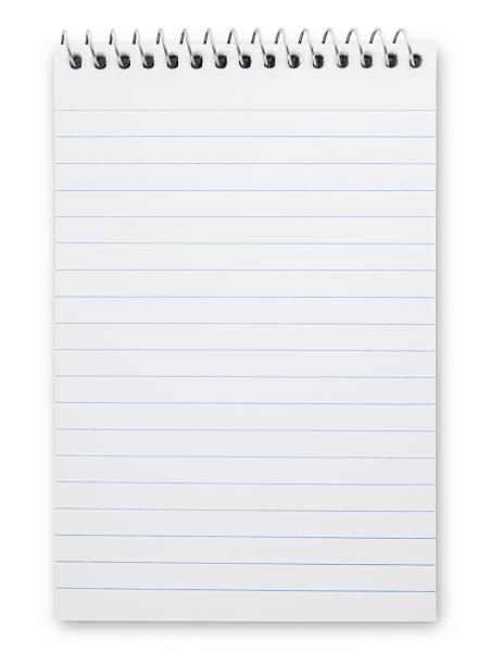 Note pad Note pad isolated on white (excluding the shadow) note pad stock pictures, royalty-free photos & images
