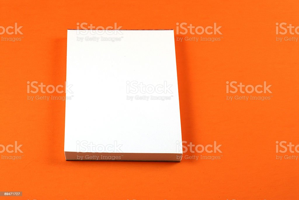 Note Pad royalty-free stock photo