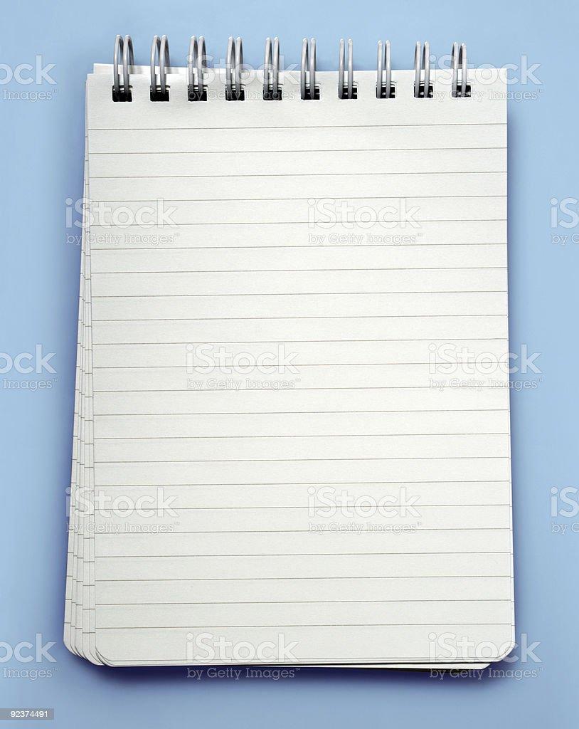 Note pad royalty-free stock photo