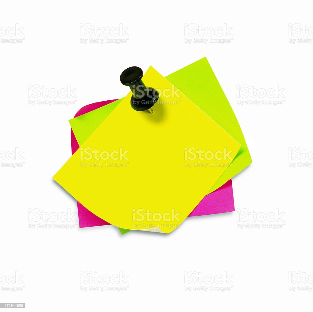 Note pads royalty-free stock photo