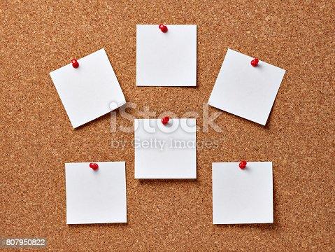 istock note paper corkboard label message post it 807950822