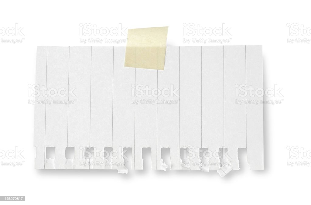 Note paper notebook blank royalty-free stock photo