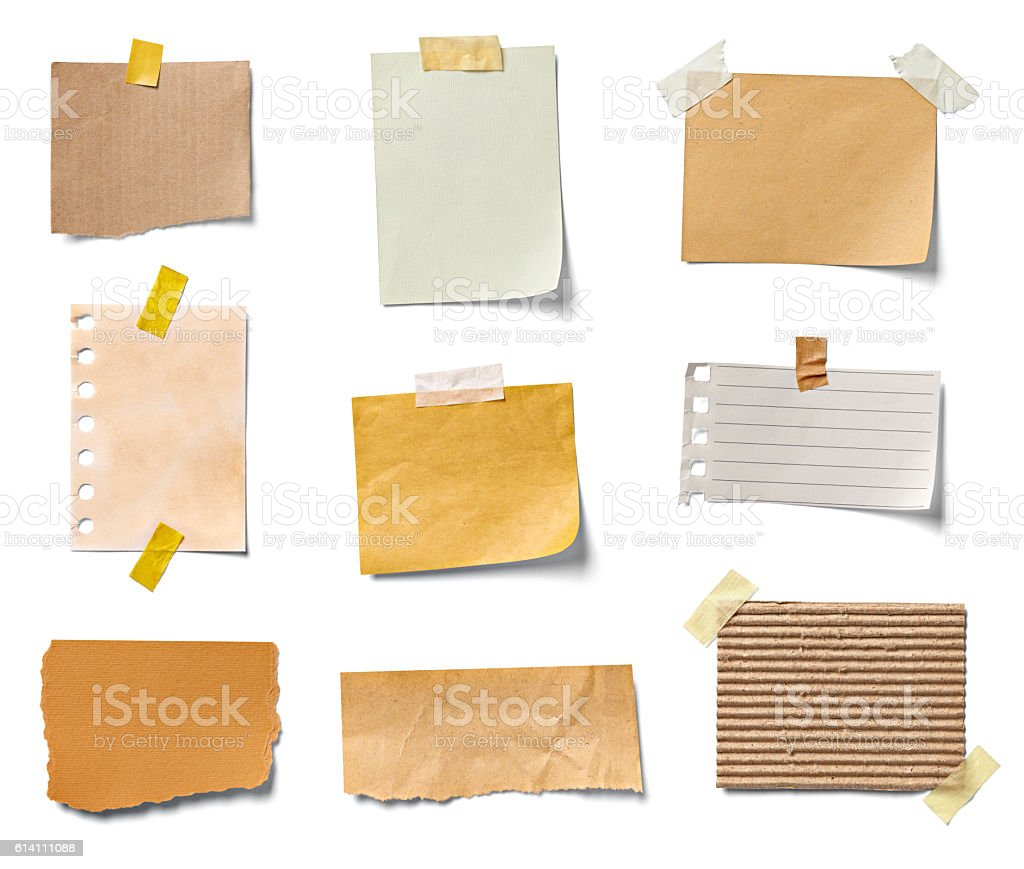 note paper piece label vintage grunge tape stock photo