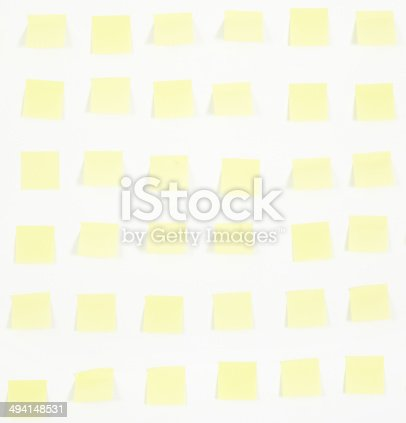 istock note papers and clock on office wall business 494148531