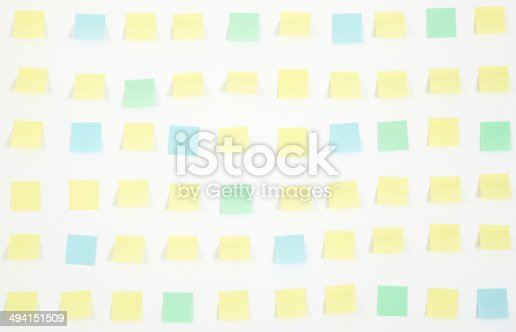istock note papers and clock on office wall business 494151509