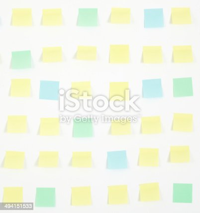 istock note papers and clock on office wall business 494151533