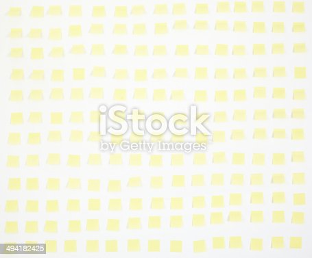 istock note papers and clock on office wall business 494182425