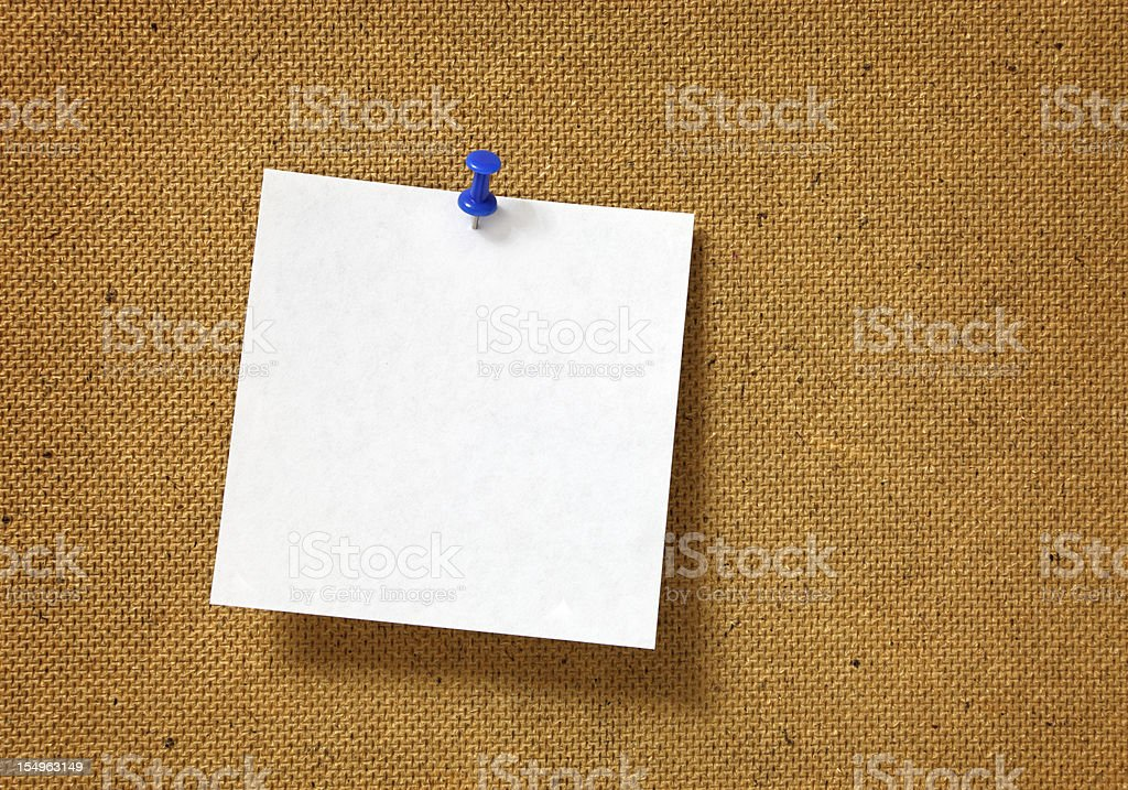 Note royalty-free stock photo