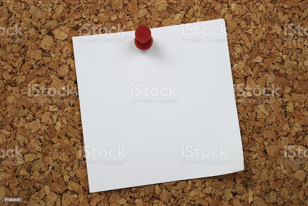 Note to self... royalty-free stock photo