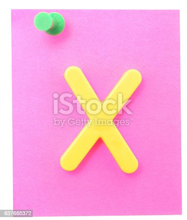istock note with letter 637665372