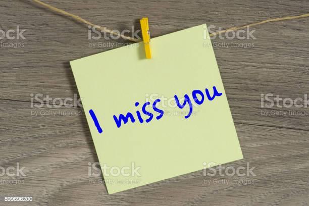 Vermisse ich vermisse