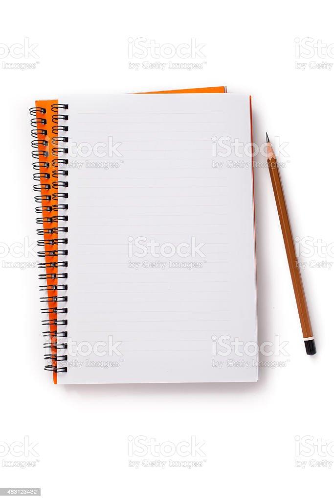 Carnet et crayon - Photo