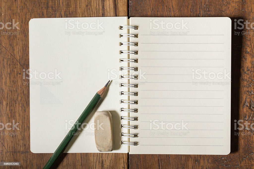 notebook and stationary Lizenzfreies stock-foto