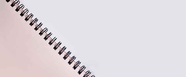 Notebook Border Background Stock Photo - Download Image Now