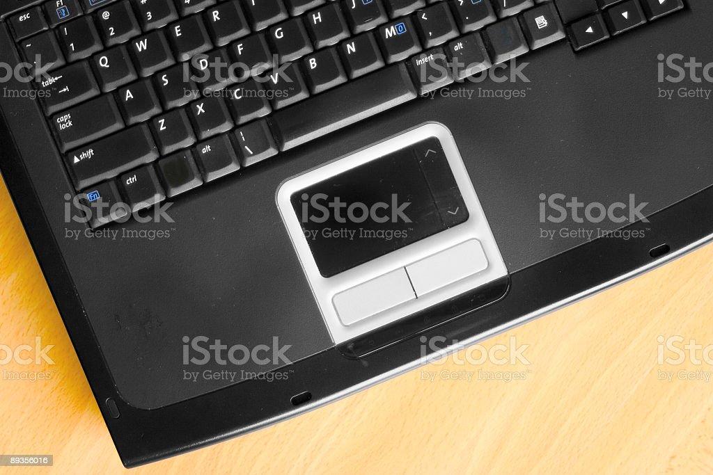 Notebook PC stock photo