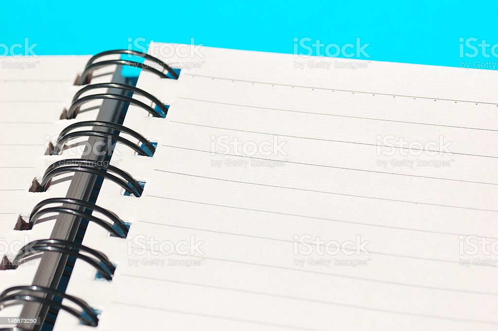 Notebook royalty-free stock photo