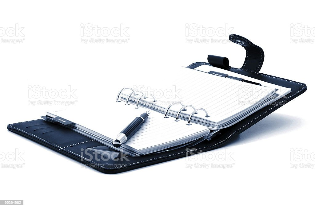 notebook - Royalty-free Blue Stock Photo