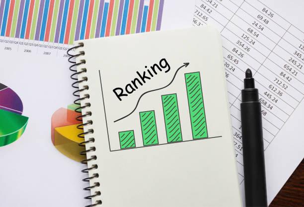 Notebook mit Toolls und Hinweise zum Ranking – Foto