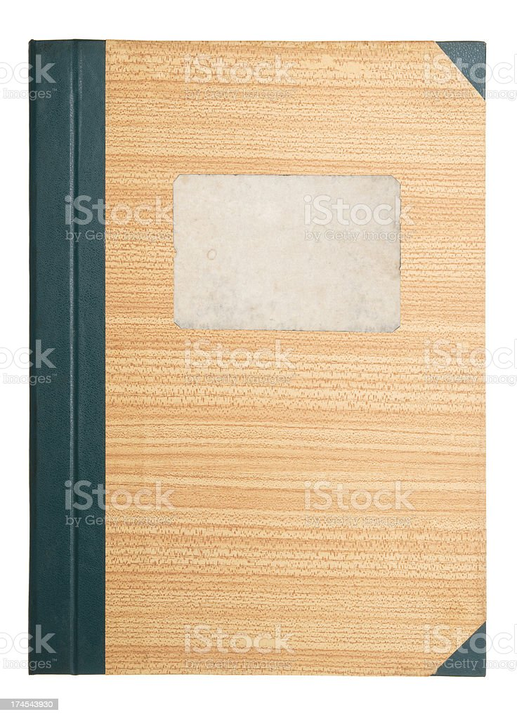 Notebook's cover stock photo