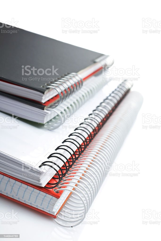 Notebooks royalty-free stock photo