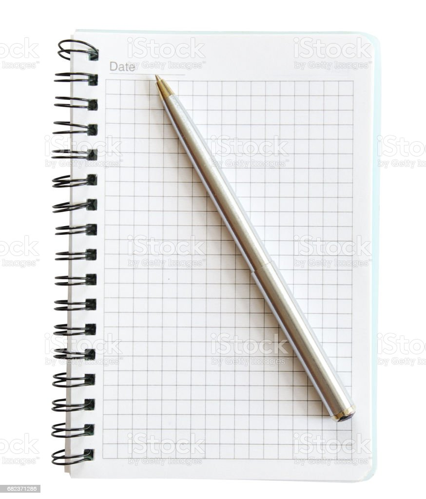 notepad royalty free stockfoto