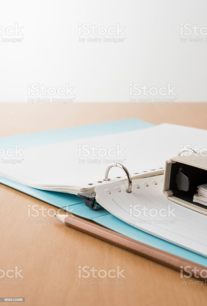 Notepad. stock photo