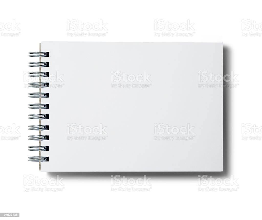 notepad. royalty-free stock photo