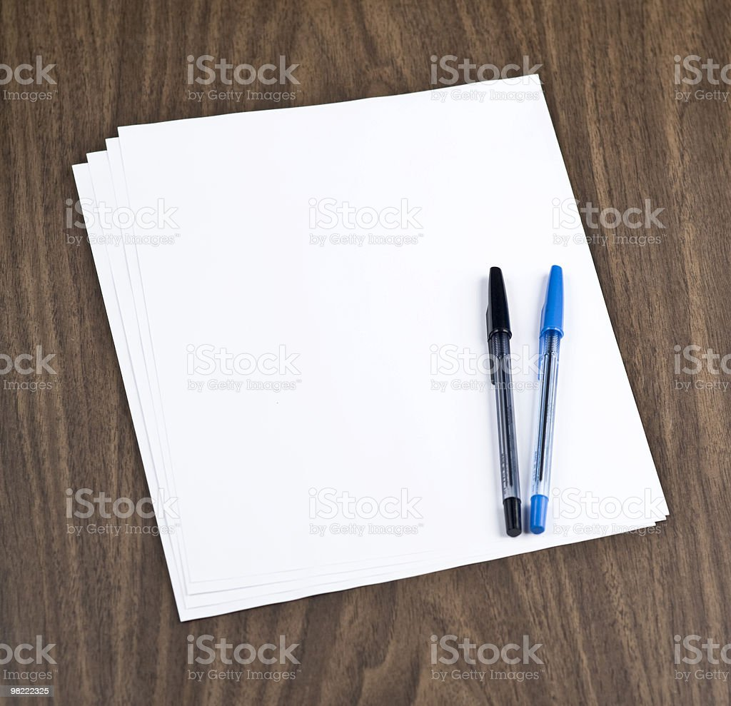 Blocco note foto stock royalty-free