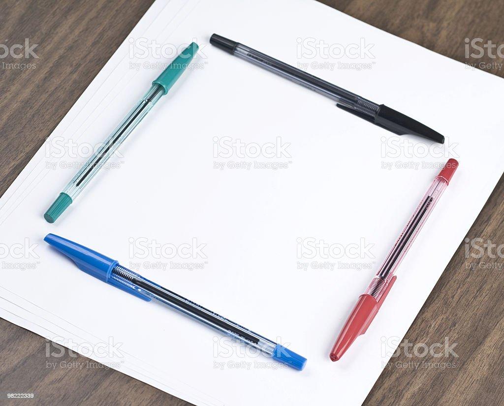 Notepad royalty-free stock photo