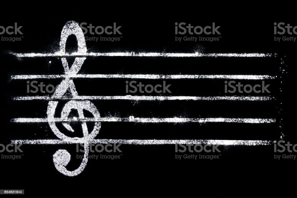 notes music stock photo