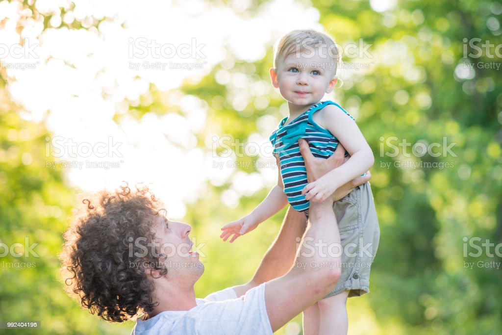 Nothing Beats A Fathers Love Stock Photo & More Pictures of Adult