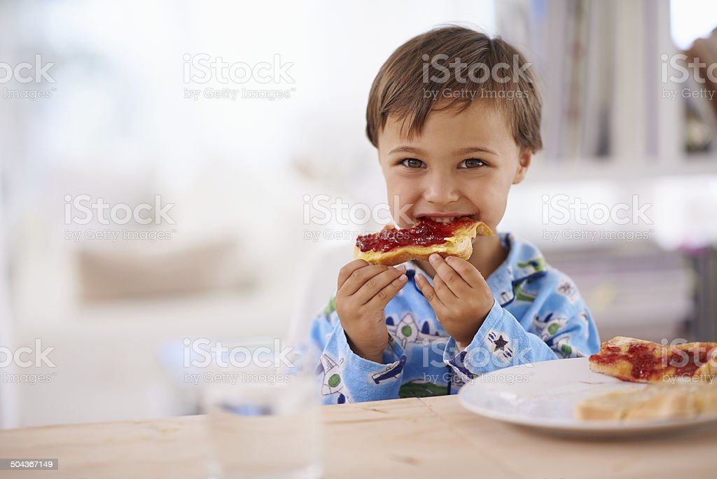 Nothing beats a good breakfast stock photo