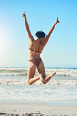 istock Nothing beats a sunny day on the beach 1157981401