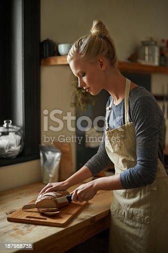 istock Nothing better than freshly baked bread 187988738